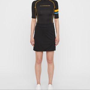 J. Lindeberg Golf Skirt Navy TX Jersey NWT Size XS